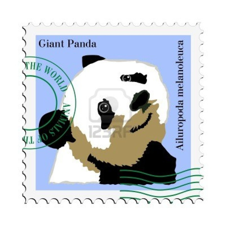 32 Best Images About PANDA Stamps On Pinterest