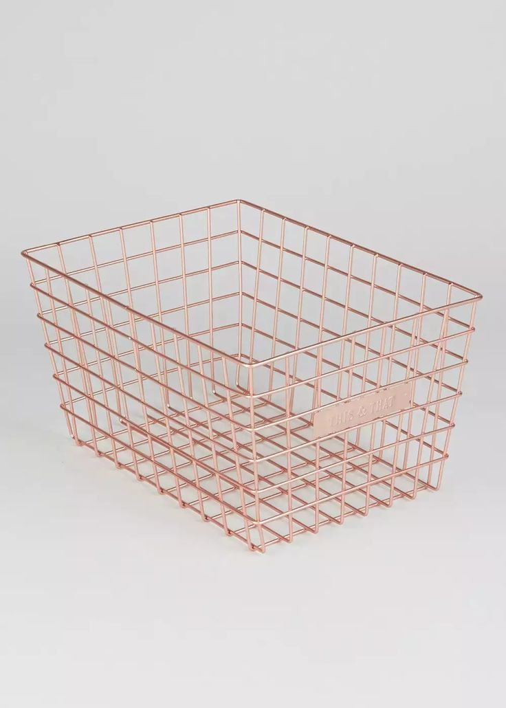 This & That' Basket (29cm x 16cm) from Matalan £6