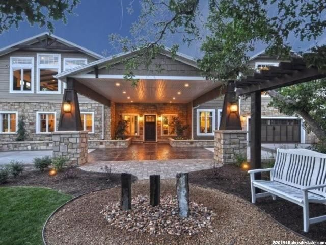 """10462 S Dimple Dell Rd E, Sandy, UT 84092 — Welcome To The Estate At Dimple Dell!! Winner Of The """"Peoples Choice Award"""" in 2013 Salt Lake Parade Of Homes. This 4-Acre Estate Is One Of The Most Private, Wooded, Yet Usable, Parcels in The Salt Lake Valley. Feel Like Your Lost in The Mountains While Living in The Heart Of Sandy. The 8,000 Ft Home Is Situated With 360 Degree Views Of The Dimple Dell Preserve and The Wasatch Mountains. 2,000 Sq/Ft Of Decks Allows You To See The Expansive Custom…"""