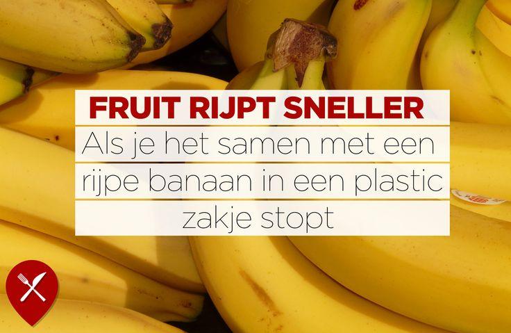 Een handige tip voor fruitliefhebbers!