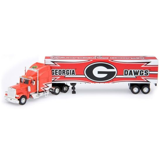 ga bulldogs trucks | Georgia Bulldogs Die Cast Tractor Trailer