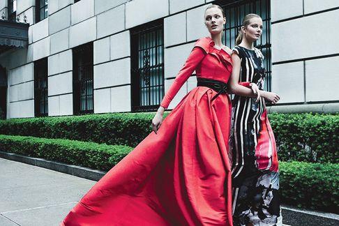 Патрик Демаршелье снял рекламную кампанию для Carolina Herrera - Carolina Herrera Fall 2012 campaign by Patrick Demarchelier
