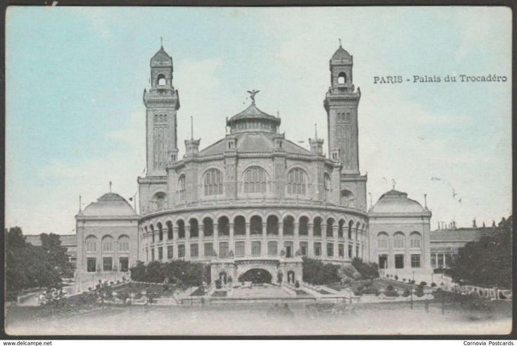 Palais du Trocadéro, Paris, France, c.1905 - CPA