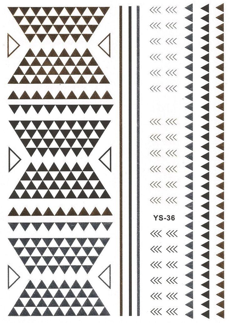 Metál tetováló matrica