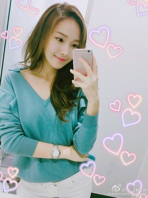 Jessica Jung greets fans with her beautiful selfies