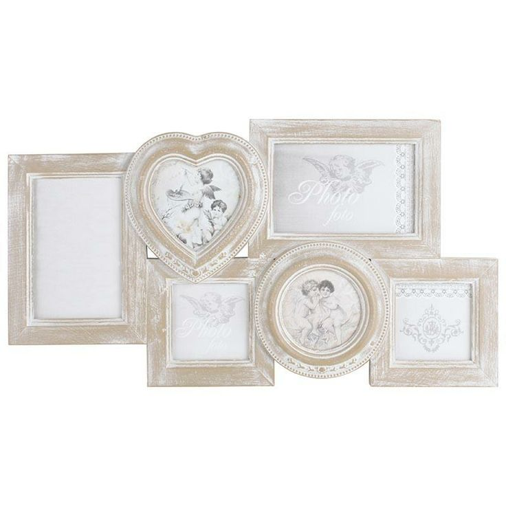 Great wooden frame with six openings! www.inart.com