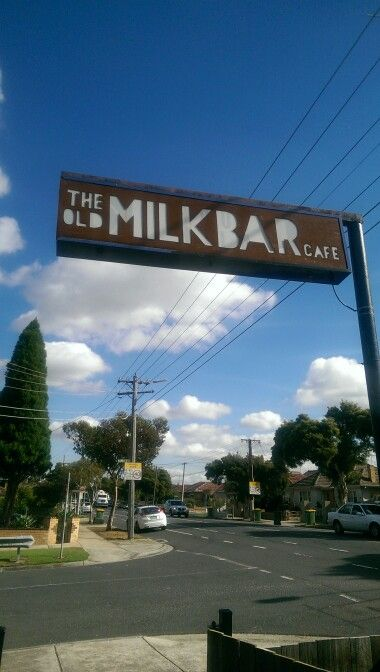 The Old Milk Bar Cafe in Melbourne, VIC
