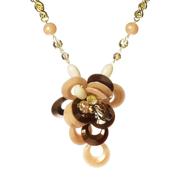 Marù by Safri Cluster Pendant Necklace - QVC Italy