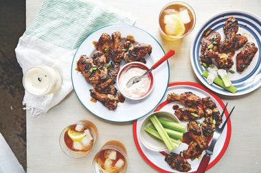 It's almost tailgating season! Get ready for beer, wings and more Recipe included: Honey-Sriracha-Teriyaki Drumsticks http://trib.al/ReWeLvx