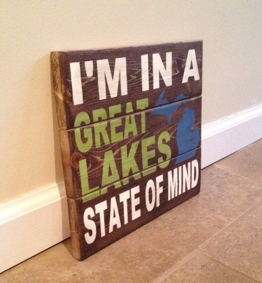 Michigan Wall Art 20 best images about gifts for the hubby on pinterest | wood photo