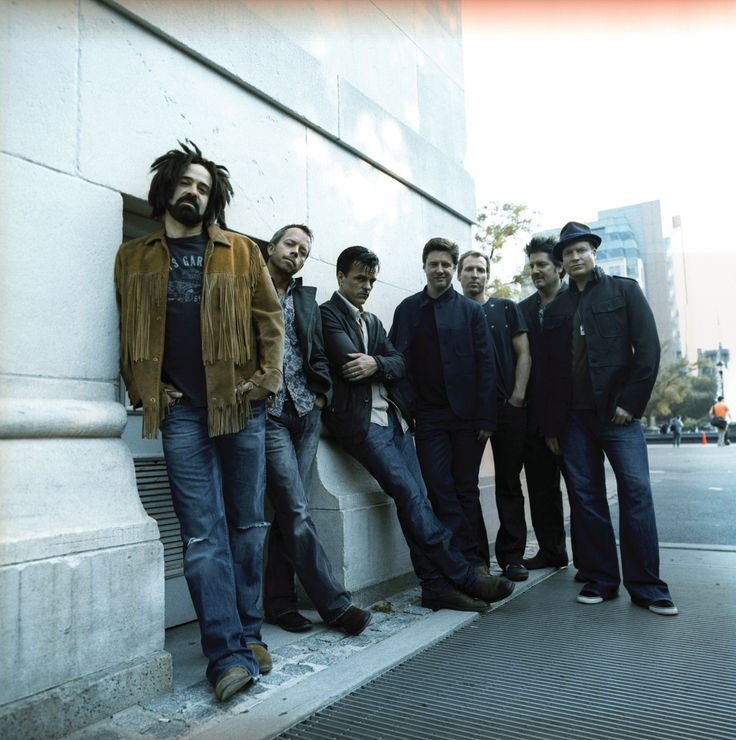 Counting Crows...1994 and 6.24.14 at NC Music Factory Uptown Amphitheater