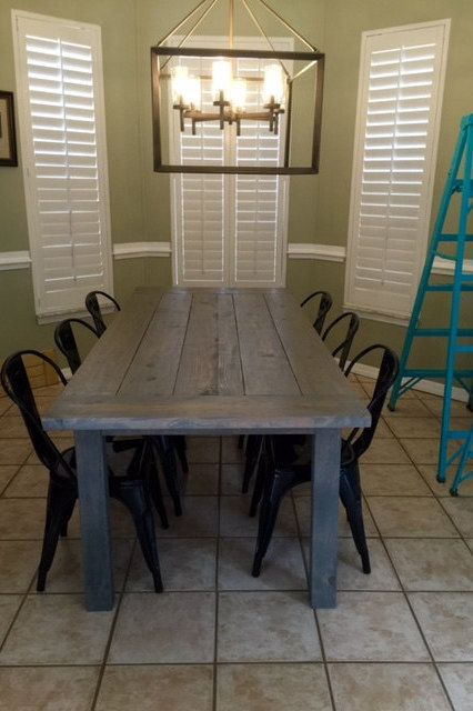 7ft Simple No Beams Farmhouse Table By DanowitDesigns On Etsy