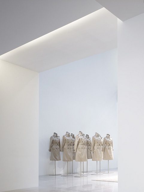 Light and space inside the Burberry Headquarters designed by Allford Hall Monaghan Morris ( © Timothy Soar) _
