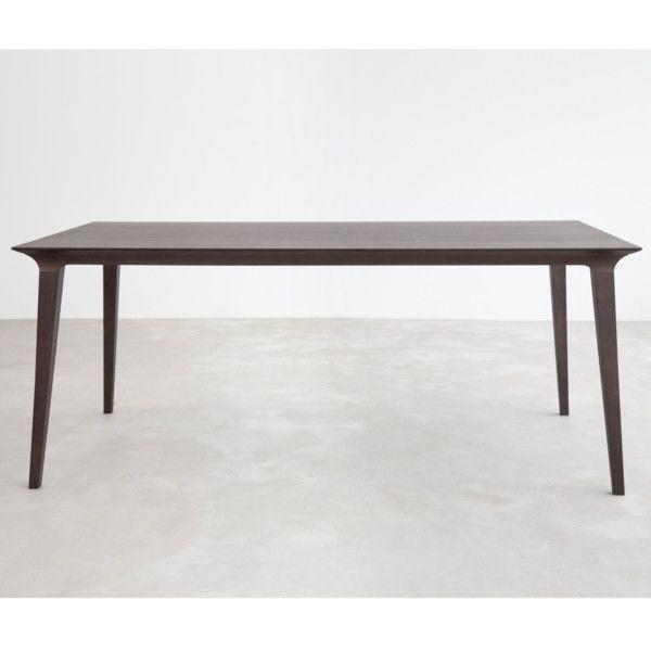 Stůl Lau 90x180 cm, mořený jasan   Bonami