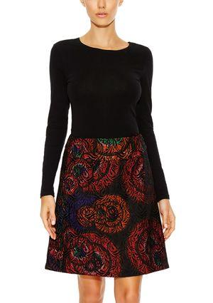 On ideel: DESIGUAL Printed A-Line Skirt