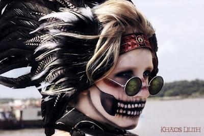 Halloween? Zombie Makeup.