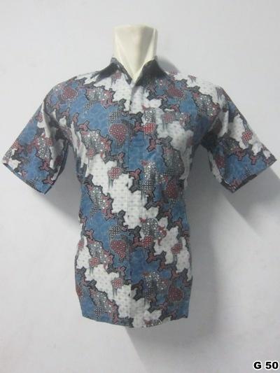 KODE G50 | IDR 70.000 | Bahan : katun prima, batik sablon kombinasi | Size M, L, XL | Hotline : 081333303545 | BB Pin 2128117C.