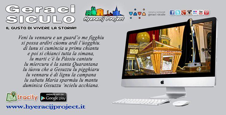 #GeraciSiculo, Triduo Pasquale 2017 Il portale ufficiale del progetto 👉 www.hyeracijproject.it