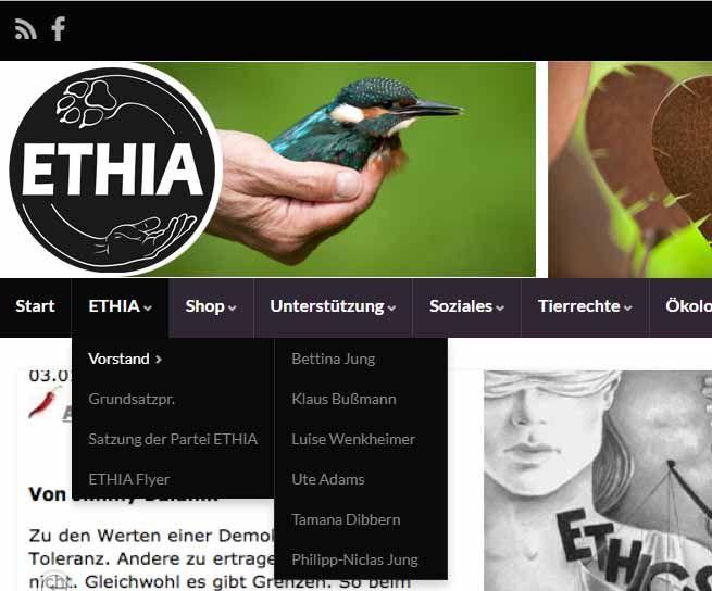 Simon Fischer fliegt aus dem Vorstand der ETHIA Partei