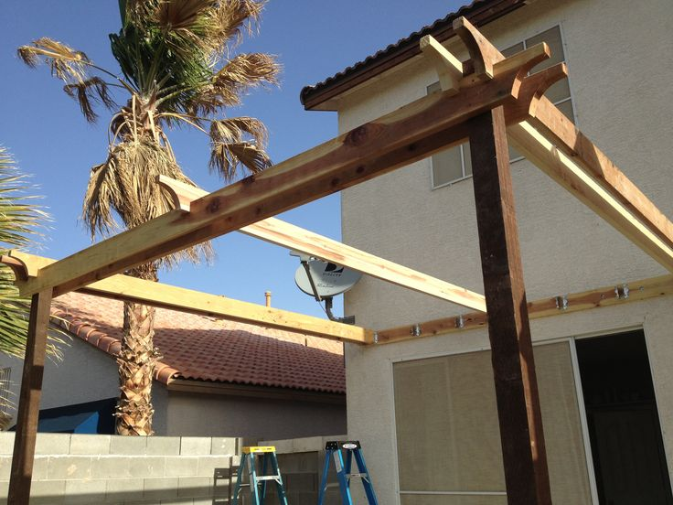 17 Best Images About Attached Pergolas On Pinterest