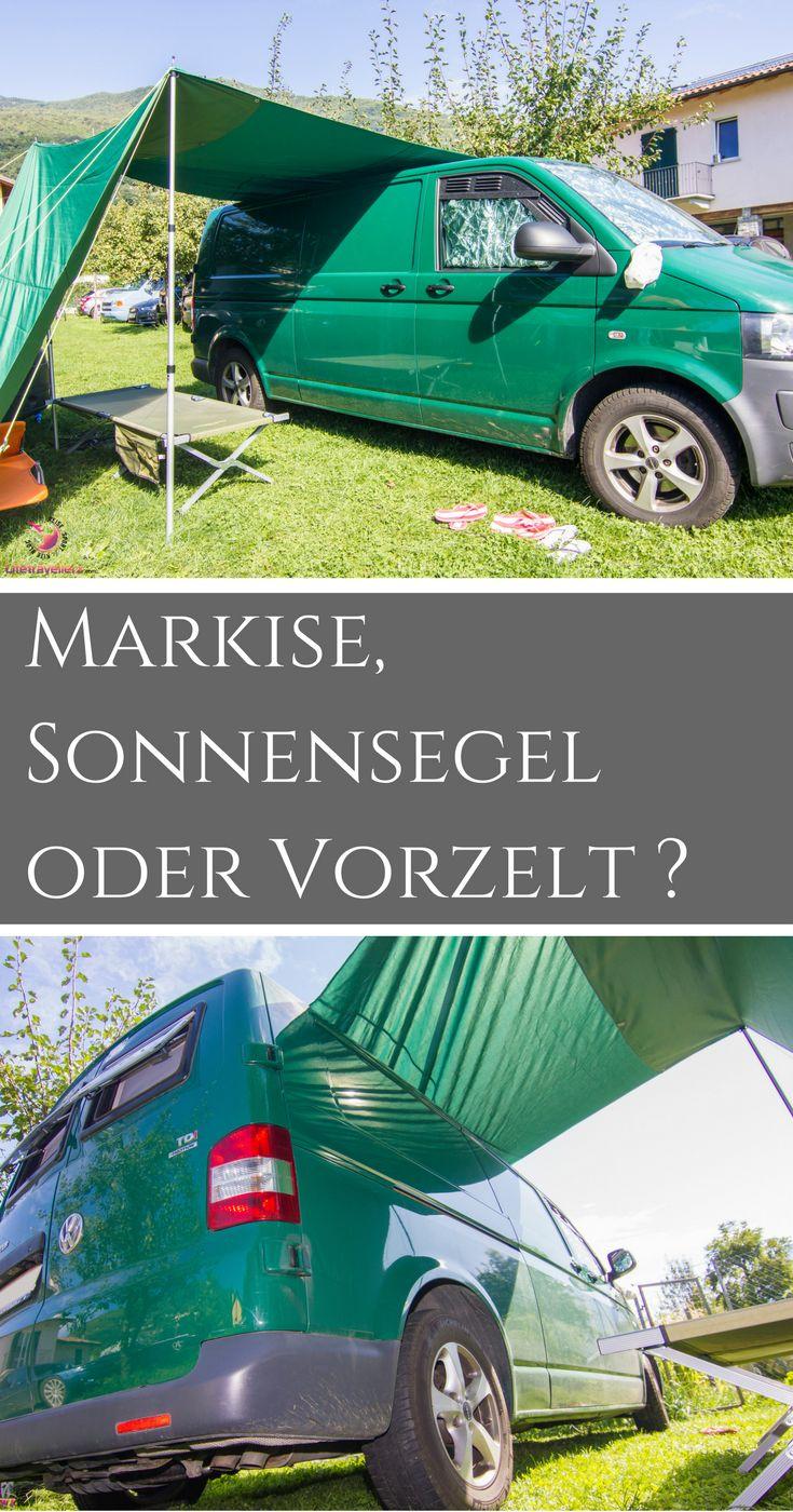 Hier findest du viele hilfreiche Informationen zur Markise, einem Sonnensegel oder einem Vorzelt in Verbindung mit dem VW Bus.