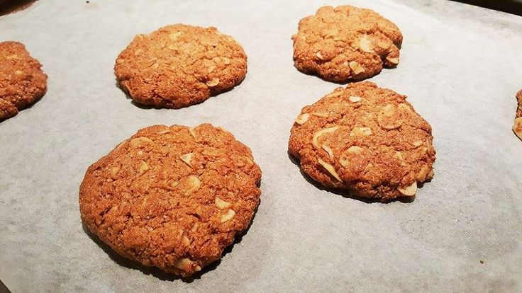 Paleo Anzac Biscuits – Thermomix