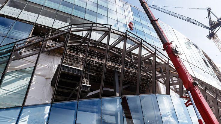 Οι τελευταίες εικόνες από το νέο μας γήπεδο, συμπεριλαμβανομένων και της εξέλιξης της νέας οροφής.         Οι τελευταίες εικόνες που δημοσ...