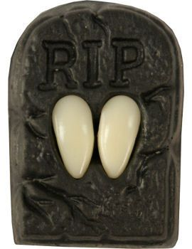 Vampire Fang Teeth Caps in coffin box | eBay £3.99 great for a vampire costume