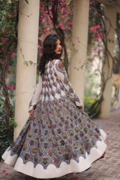 How amazing is this Rohit Bal coat.