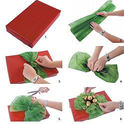 how to - gift wrapping: Gifts Ideas, Paper Bows, Make A Bows, Christmas Bows, Gifts Wraps, Big Bows, Wraps Gifts, Christmas Wraps, Wraps Ideas