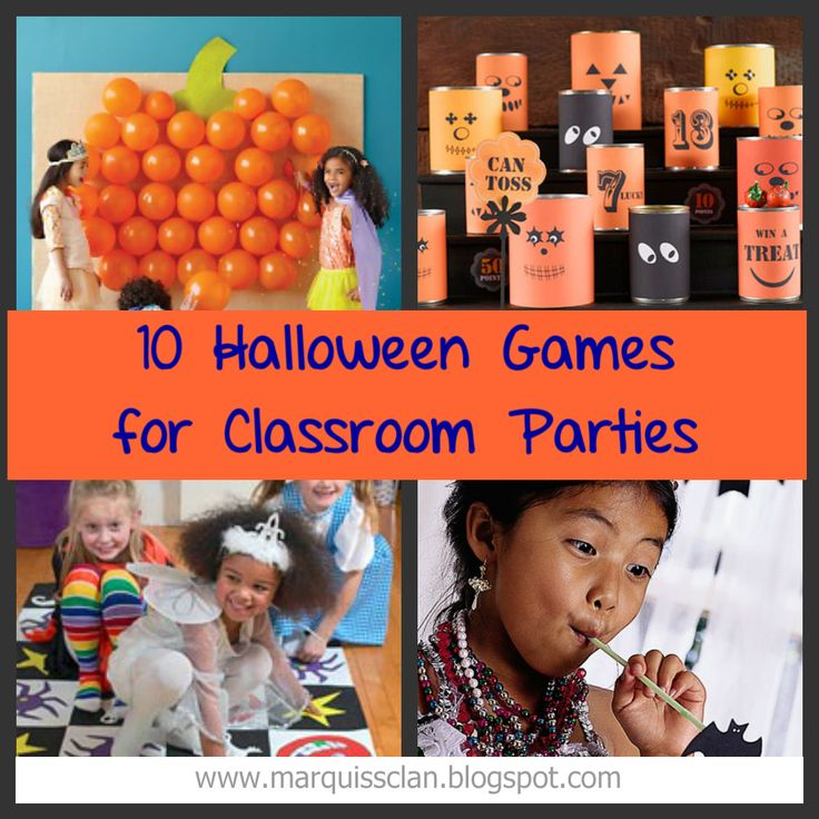 Living with Three Hobbits and a Giant: halloween games {for the classroom}