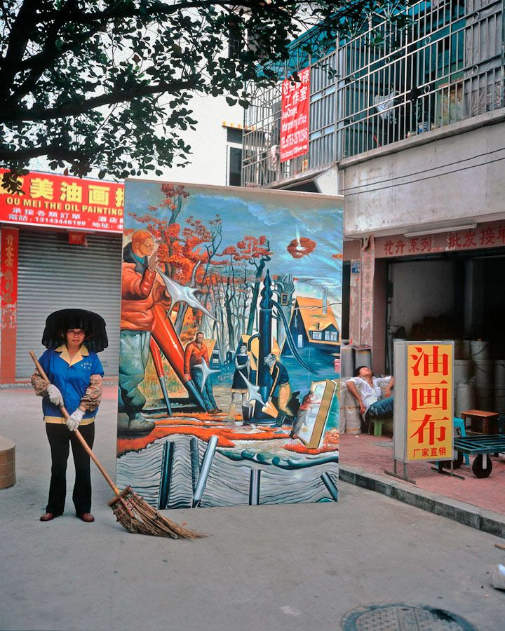 Michael #Wolf, Real fake #art, #China