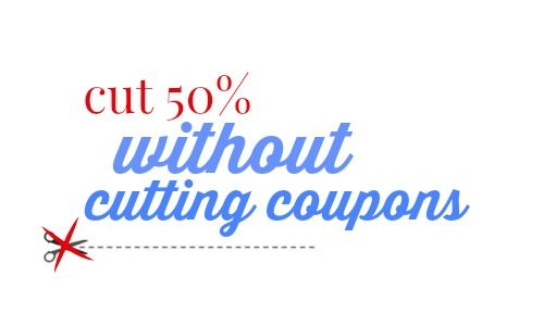 Cut 50% of your budget without cutting coupons.  Frugal living at its finest.