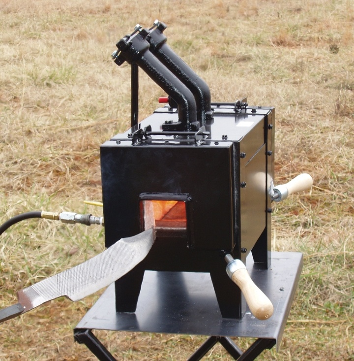 Nc Knifemakers Gas Propane Forge 18 Quot Length Dual Doors