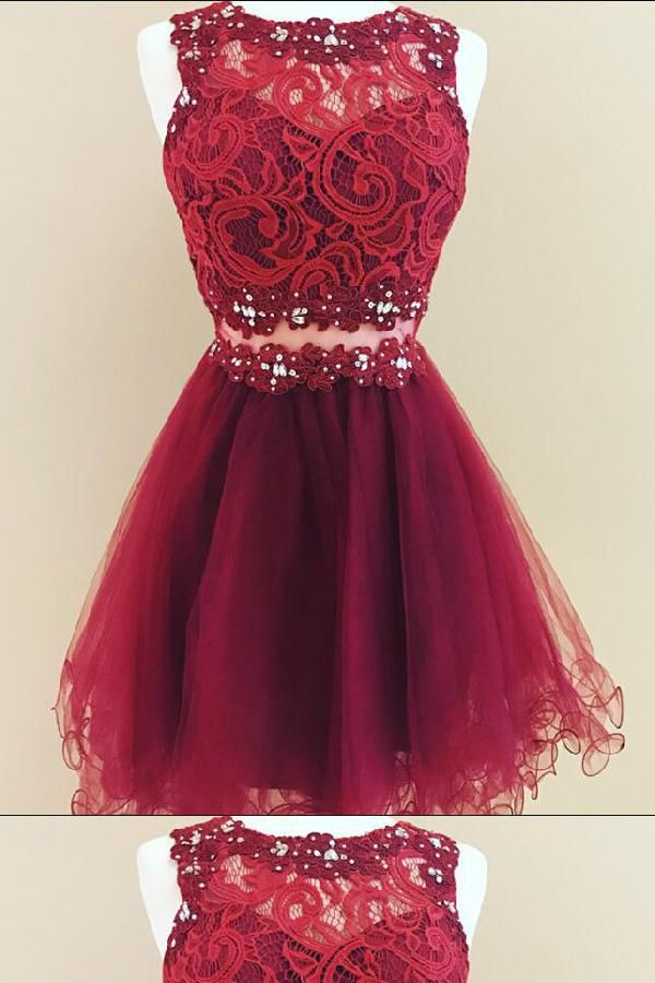 red homecoming dresses 2019