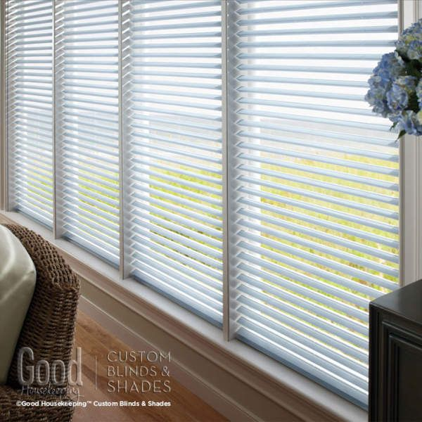 Good Housekeeping Room Darkening Insulating Cellular Blinds: Love the energy efficiency of cellular shades but want the light control options of a horizontal blind? Look no further than Good Housekeeping Insulating Cellular Blinds. Insulating Cellular Blinds combines the superior insulation and energy saving qualities of cellular shades with the total light control of blinds.