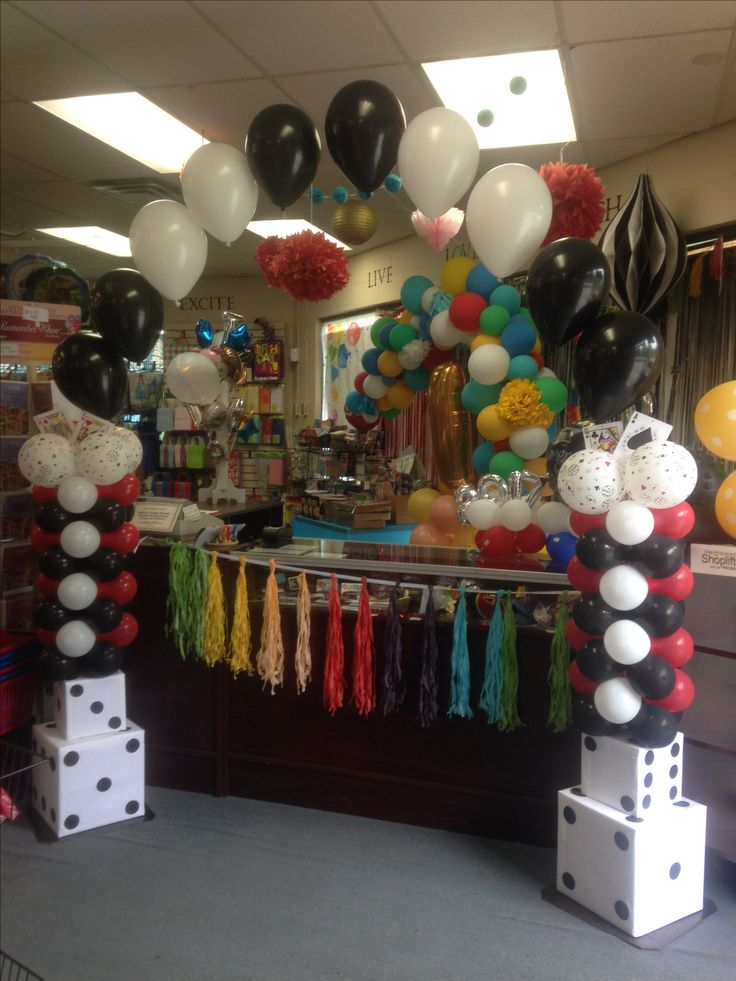 Airfilled and helium filled arch. Create any theme.