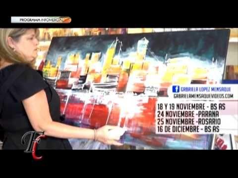 Fusión Crear 18-11-2016 GABRIELA MENSAQUE - YouTube