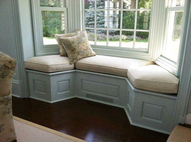 Country window seat cushion window seat kitchen living