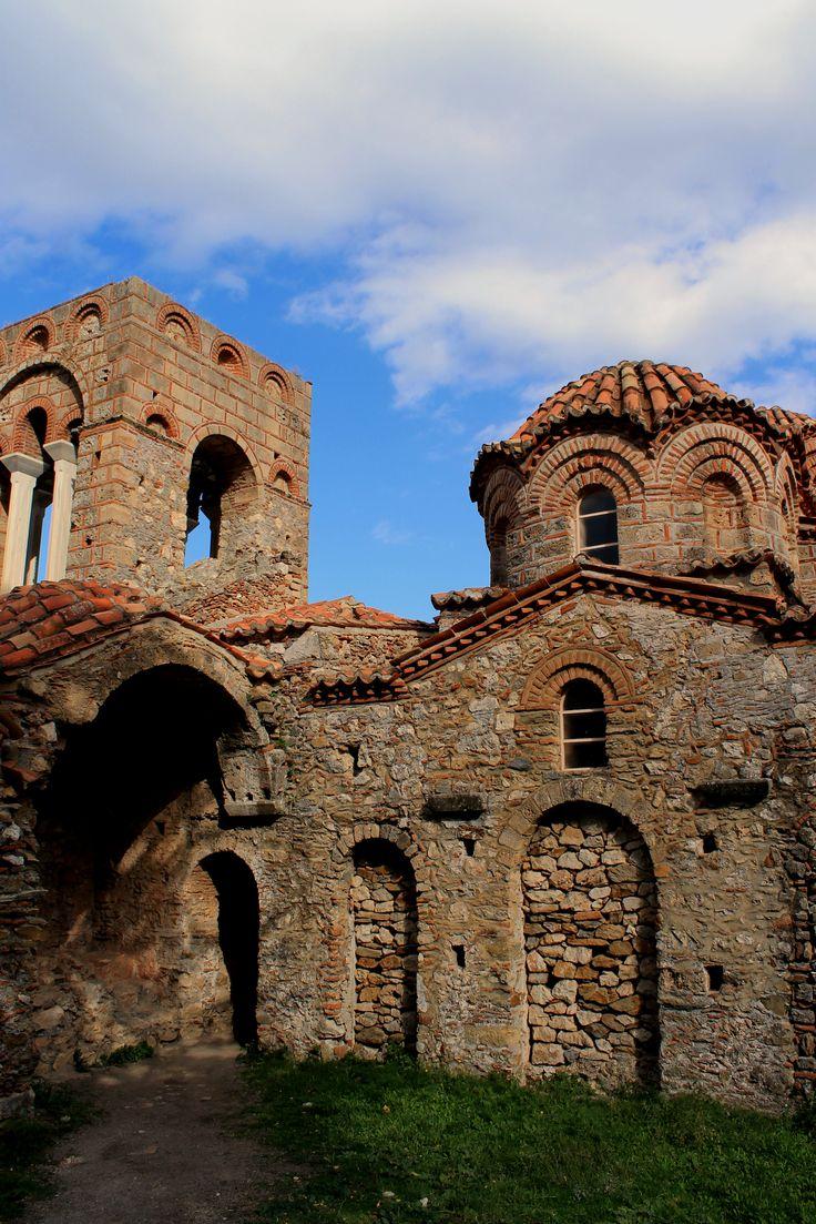 Church of Agia Sofia at Mystras  Μυστράς (Mystras) in Μυστράς, Λακωνία