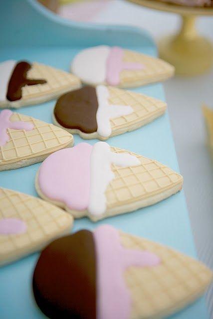 Ice Cream cookies!