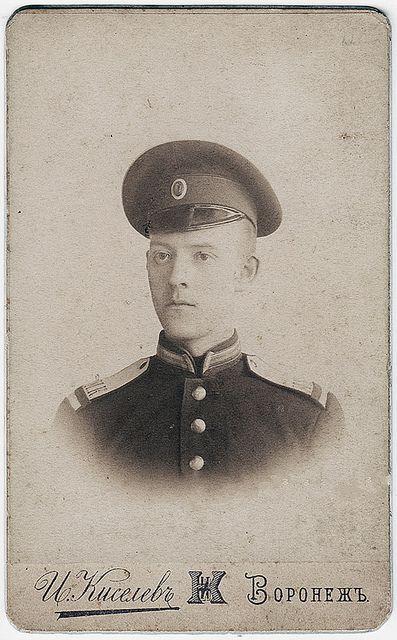 Борис Рехан - кадет-экстернат Воронежского Кадетского корпуса.