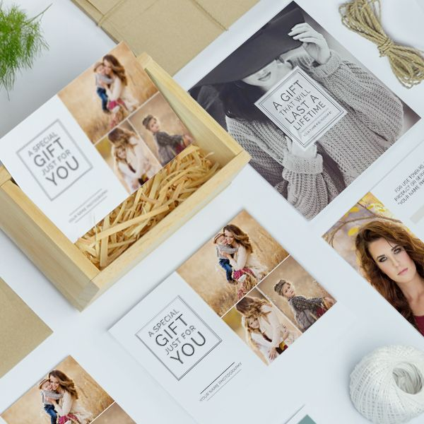Photography Studio Gift Certificate Templates