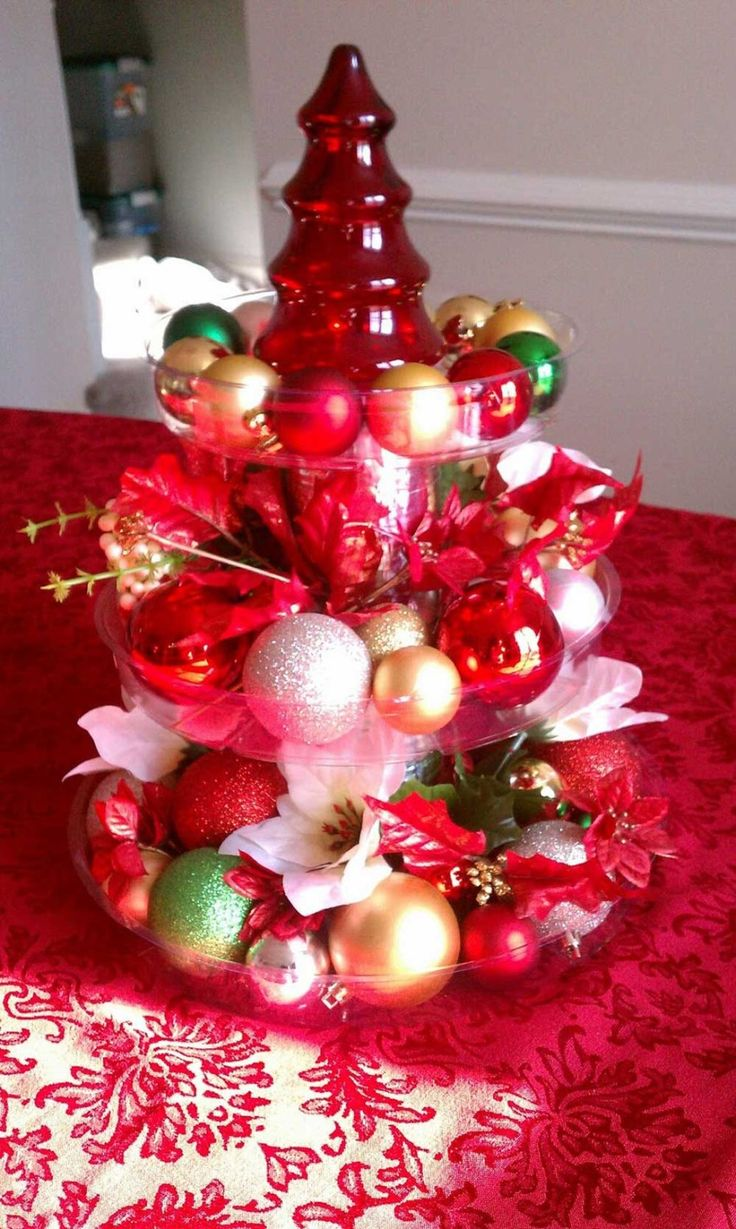 Describing beautiful christmas decorations - 50 Christmas Centerpiece Decorations Ideas For This Year
