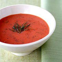 Soupe froide aux tomates 2 Points +