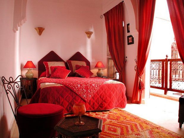 Red Sheer Curtains For Bedroom Decor
