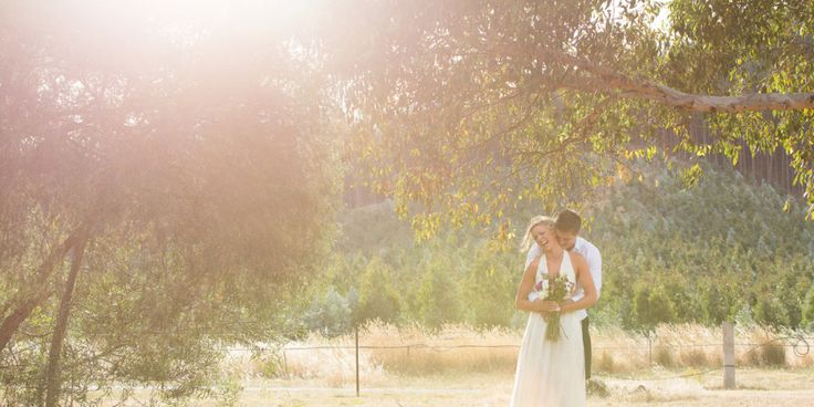 Gorgeous Michelle and her Ian at Flowerdale Estate on her wedding day - agent 86 photography