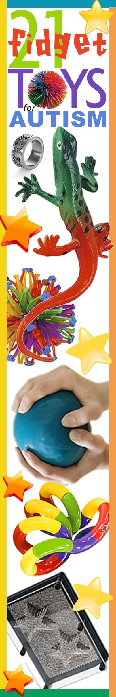 Get your hands on these awesome fidget toys for #Autism by clicking on the graphic. Don't forget to REPIN!
