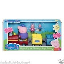 Official Peppa Pig Toy - Grandpa Pig's train...