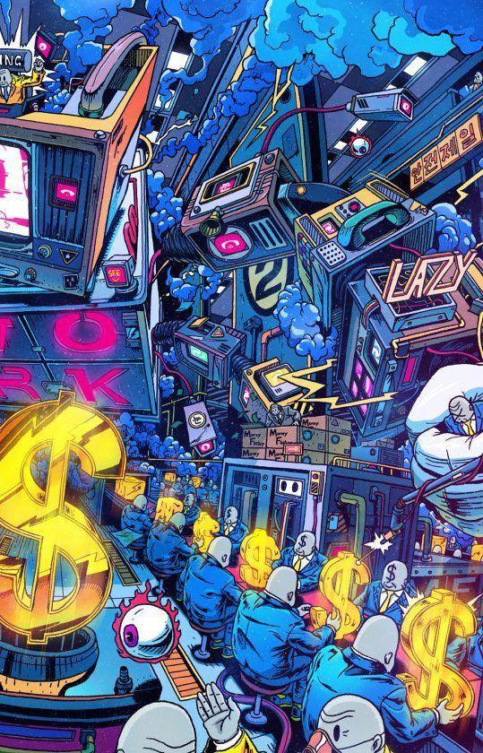 Pin By Katie Jo On Comics In 2020 Pop Art Wallpaper Street Art Graffiti Art Wallpaper